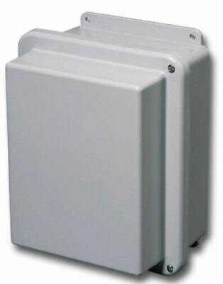 Stahlin Electrical Fiberglass Enclosurebox Rj1008hw 4x 10x8x6 Fg Hw With Panel