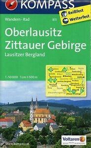 * OBERLAUSITZ - ZITTAUER GEBIRGE - LAUSITZER BERGLAND 1 : 50 000