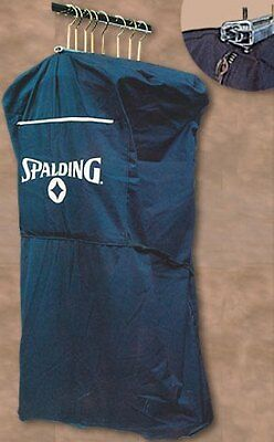 "Salesman Griptite Sample Garment Bag Navy Canvas 38"" New"