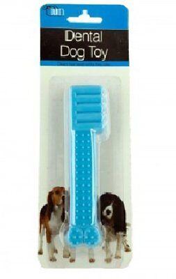 Dental Dog Toy - Textured - puppy, hygiene, teething, chew, bone toothbrush - US