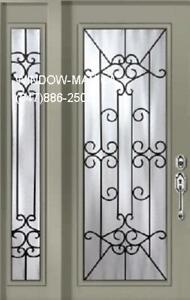 Single SideLite Door Front Entry  Top Quality