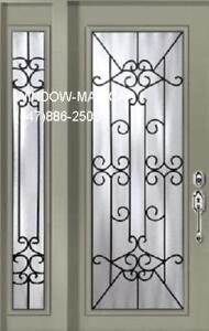 Front SideLite Door Entry Single  many styles