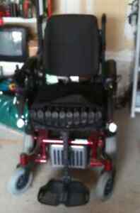 Deluxe Adult Power Base Motorized Wheelchair