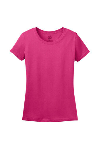 Fruit of the Loom Women's Short Sleeve HD cotton T-Shirt Hot