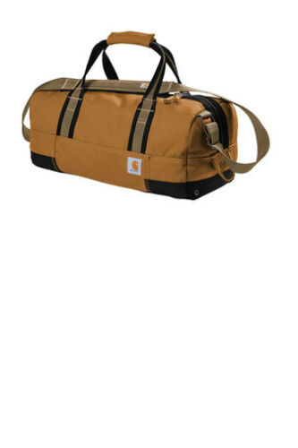 "Carhartt Signature Foundry 20"" Duffel Bag Work contractor industrial Brown"