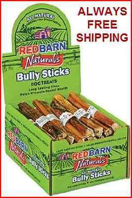 RED BARN 7 INCH BULLY STICKS - 35 COUNT