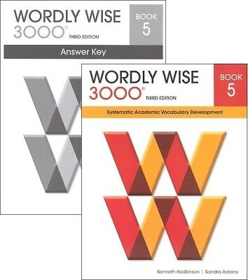 Wordly Wise 3000 Grade 5 SET -- Student and Key NEW  *3rd edition*