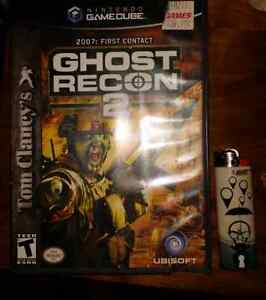 Ghost recon 2 game cube video game mint condition