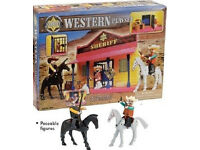 Sheriff Western Playset