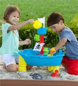 Sand and Water Pirate Ship Play Set. $15