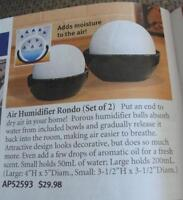 NEW air humidifier set of 2