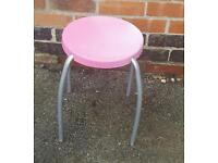 Pink child's stool - free to a good home