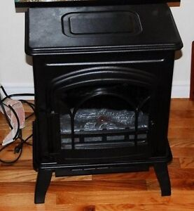 REDUCED! Adorable Realistic Electric Woodstove!
