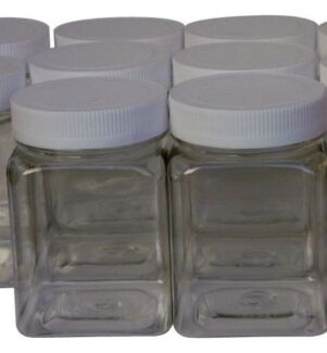 Wanted: WANTED CLEAR PLASTIC SCREW TOP JARS AROUND 200GRMS SIZE