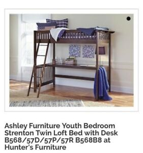 Ashley Furniture Bunk bed with desk