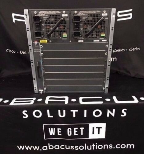 Cisco Ws-c4507r+e Catalyst 4500e 7 Slot Chassis Fully Tested Dual Ac