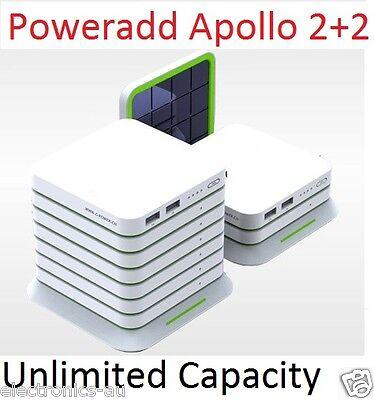 2016 Poweradd Apollo 4 20000Mah Solar Charger External Portable Power Bank