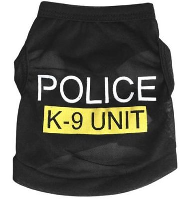 Used, Dog Puppy PET VEST K-9 POLICE UNIT Sz LARGE Jacket Canine Cop Clothes USA SELLER for sale  Shipping to Canada