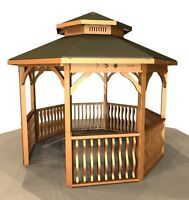 Gazebo, Pergola & Pavilion Kit, easy-to-assemble, DIY