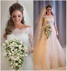 Lace Mermaid & Trumpet Unbranded Regular Wedding Dresses