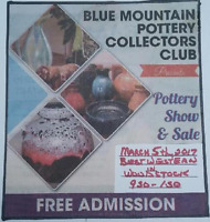 Blue Mountain Pottery Collector's Club Show and Sale