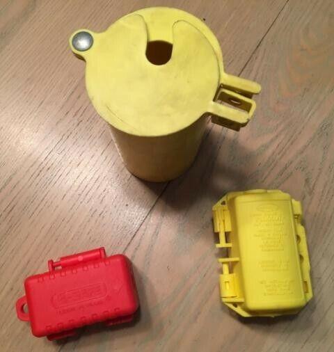 Plug Lock North LP110 E-safe Lock+NEW HUBBELL HLDMP NEW+Universal Lock- all 3