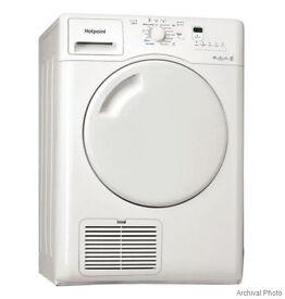 New Hotpoint UK White Tumble Dryer 8 kg B Energy Efficient Model TDWSF83EPZ