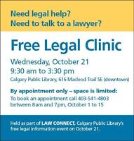 Need legal help? Need to talk to a lawyer?