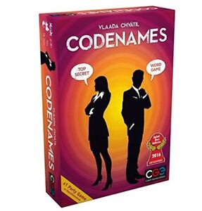 """Authentic Czech CODENAMES Board Game """"Kayy's Collection"""" NEW"""