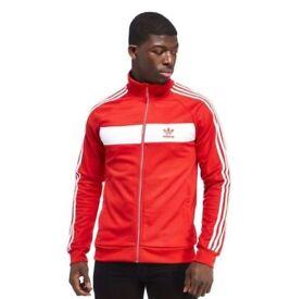 RARE Adidas Originals Country Track Top Men - red - Adidas On sale RPP £55