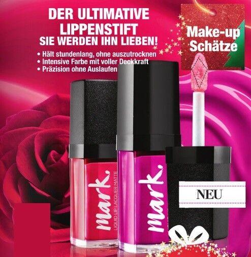 AVON Mark Liquid Lip flüssiger Lippenlack Lippenstift Matt oder Glanz Farbwahl
