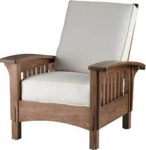 "Mission Style Chair ""DIY "" Unfinished Furniture Kit Ash Wood"