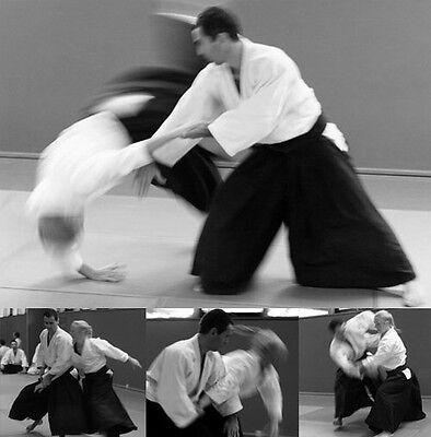AIKIDO - One-Of-A-Kind 5-Hour Aikido Self-Defense Training DVD -