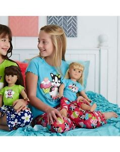 American Girl PJ Set for Real girl and Doll (size 8) London Ontario image 2