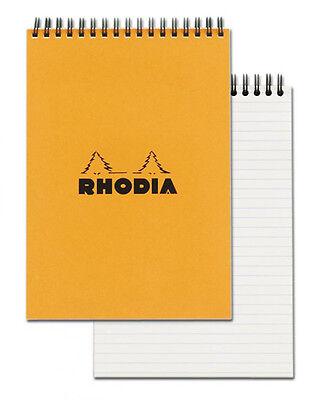 Rhodia Wirebound - Notebook - Orange - Lined - 80 Sheets - 6 X 8.25 - New R16501