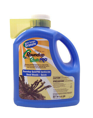 Roundup QuikPro Herbicide Weed Killer 1 - 6.8 Pound jug