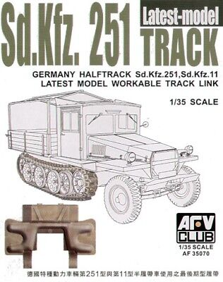 AFV Club 1/35 Sd.Kfz. 251 Latest Model Workable Track 35070