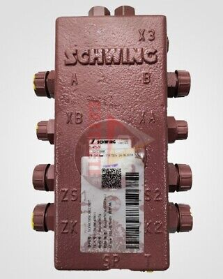 Genuine Germany Concrete Pump Spare Parts Schwing Control Block Valve 10171638