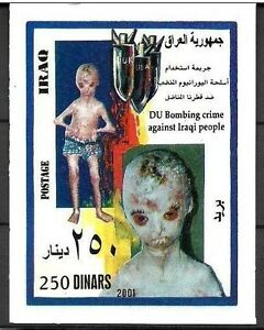 IRAQ IRAK US Bombs Dropped on Iraqi Citizens 2001 1636 MNH