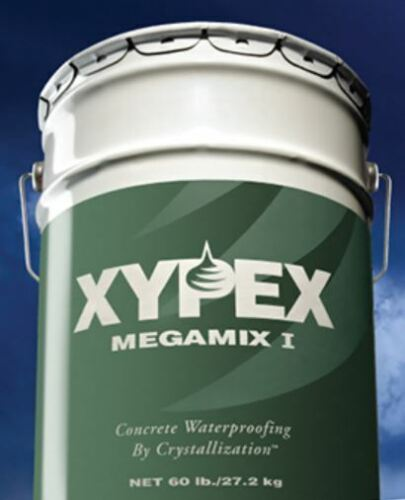 XYPEX Megamix 1 Repairing Mortar 1 - 60# Pail (Authorized Dealer MEGAMIX1)