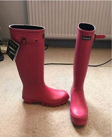 Barbour Ladies Wellies - Size 6