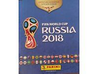 Panini World Cup 2018 Russia Sticker Swaps
