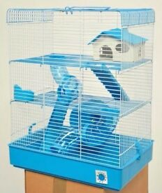 Penthouse Hamster Cage