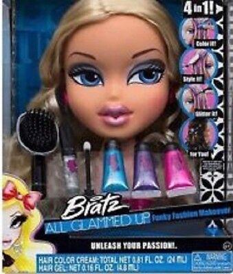 Girls Toys New BRATZ - All Glammed Up Doll - Funky Fashion Makeover etc