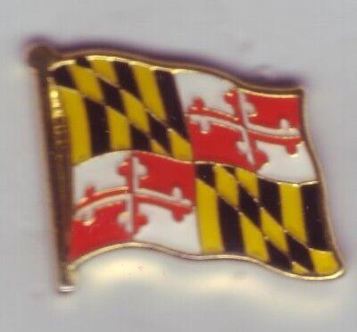 Bundesstaat Maryland  Flaggenpin,Flagge,Pin,Anstecker,USA,Amerika