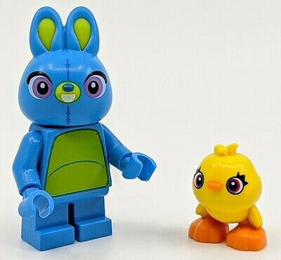 NEW LEGO BUNNY and DUCKY  MINIFIG LOT TOY STORY 4 minifigure pixar 10770