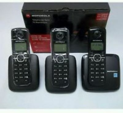 Motorola Cordless phone L603m with 3 Handset. BRAND NEW!!