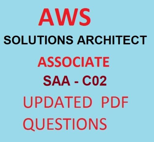 AWS - SOLUTIONS ARCHITECT ASSOCIATE - SAA-C02EXAM PRACTICE Q&A - Updated PDF
