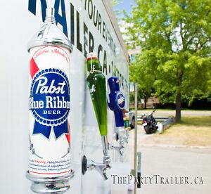 Keg Beer Keg Draft Event Trailer Wedding Tent Rental