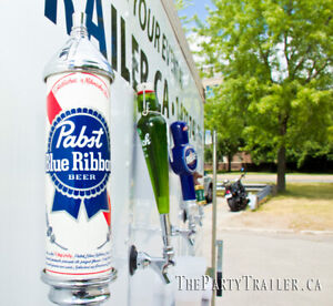 Wedding Keg Beer Draft Draught Beer wedding tent trailer rental